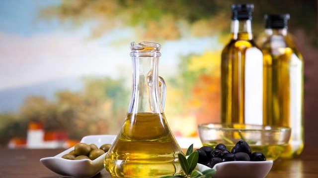 Degustazione d'olio para 2 adultos