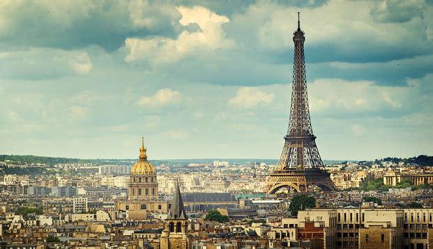 Modern verblijf aan de rand van Parijs