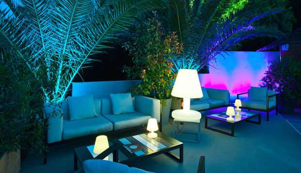 Hotel Le Golfe - terraza