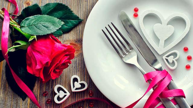 1 Dîner romantique pour 2 adultes