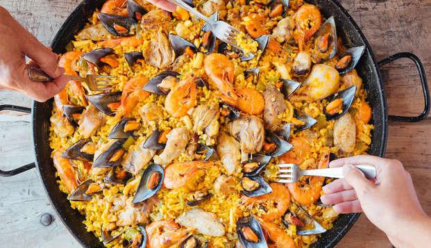 Gastronomía y relax en Alcoy con cena incluida, entrada a la zona relax y parking