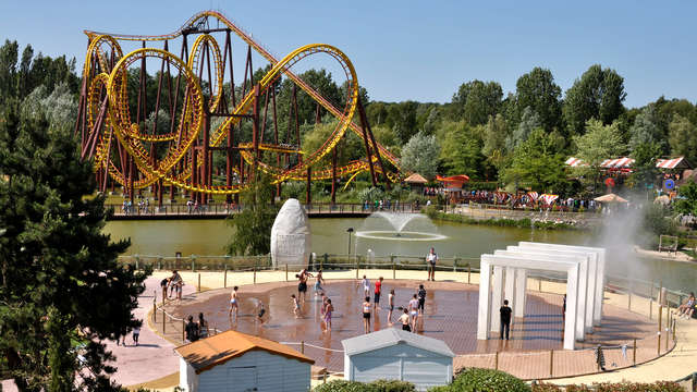1 Entrée au Parc d'attractions Astérix pour 2 adultes
