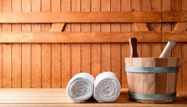 Découvrez la belle ville de Bruxelles et détendez-vous dans le sauna
