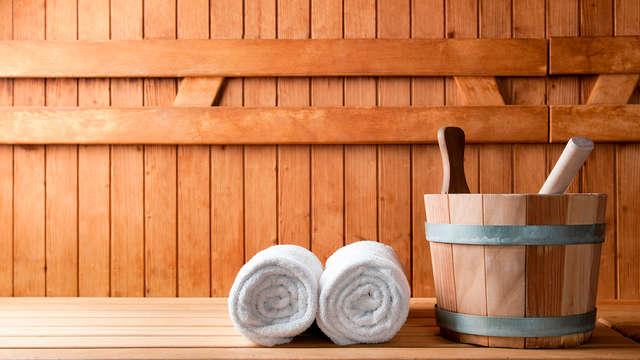 Ontdek het mooie Brussel en ontspan in de sauna