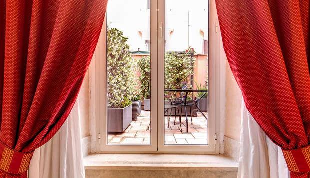 Découvrez le coeur de Rome dans un hôtel confortable et élégant