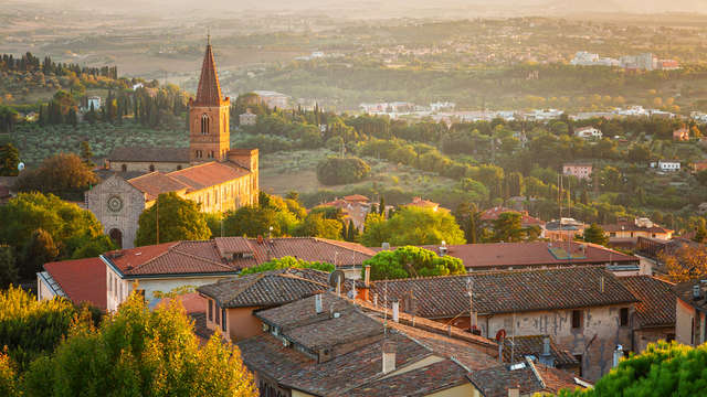 Découvrez les paysages de l'Ombrie et vous logeant dans un 4* à Assise