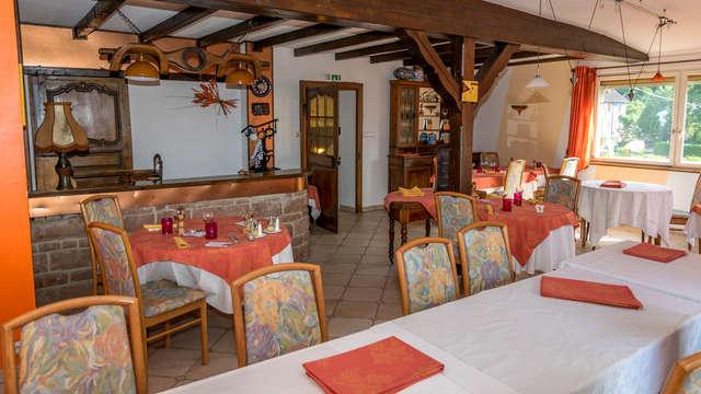 Plaisirs de la table et détente au charme alsacien près de Colmar, dans le Parc des Vosges