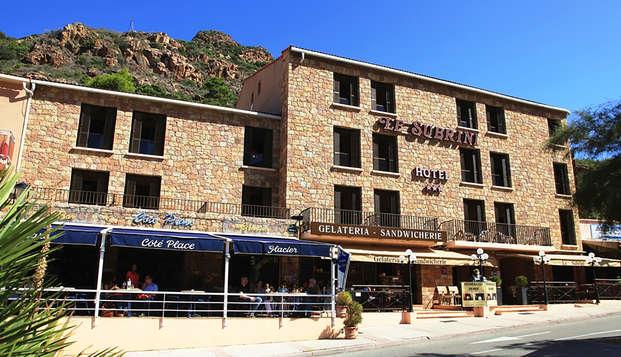 Hotel Le Subrini - Fachada