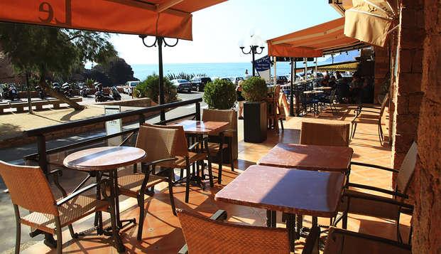 Hotel Le Subrini - Terraza