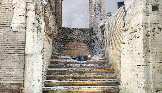 Roma ipogea! Scoprite i resti sotterranei dello Stadio di Domiziano, sotto Piazza Navona!