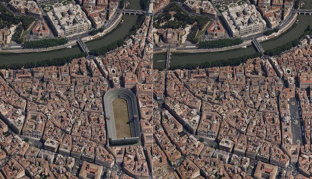 Découvrez les souterrains de Rome : nuit dans un hôtel et visite du Stade de Domitien