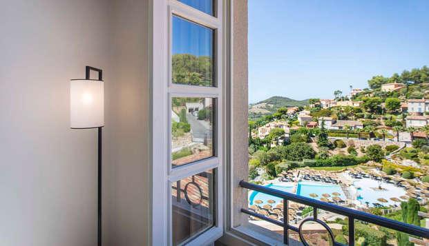 Dolce Fregate Provence - vue depuis la chambre