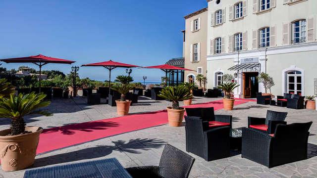 Dolce Fregate Provence - new vue plazza mer