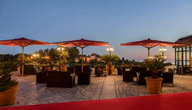 Dolce Fregate Provence - new vue nocturne plazza hotel