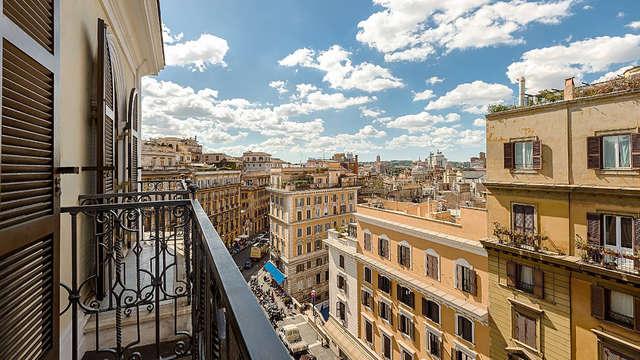 Bel hôtel de charme dans le centre de Rome, avec une terrasse panoramique !