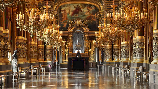 Escapada a París con visita guiada del Palacio Garnier