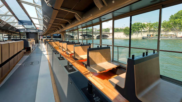 Ontdek de chique buurten van Parijs met cruise op de Seine