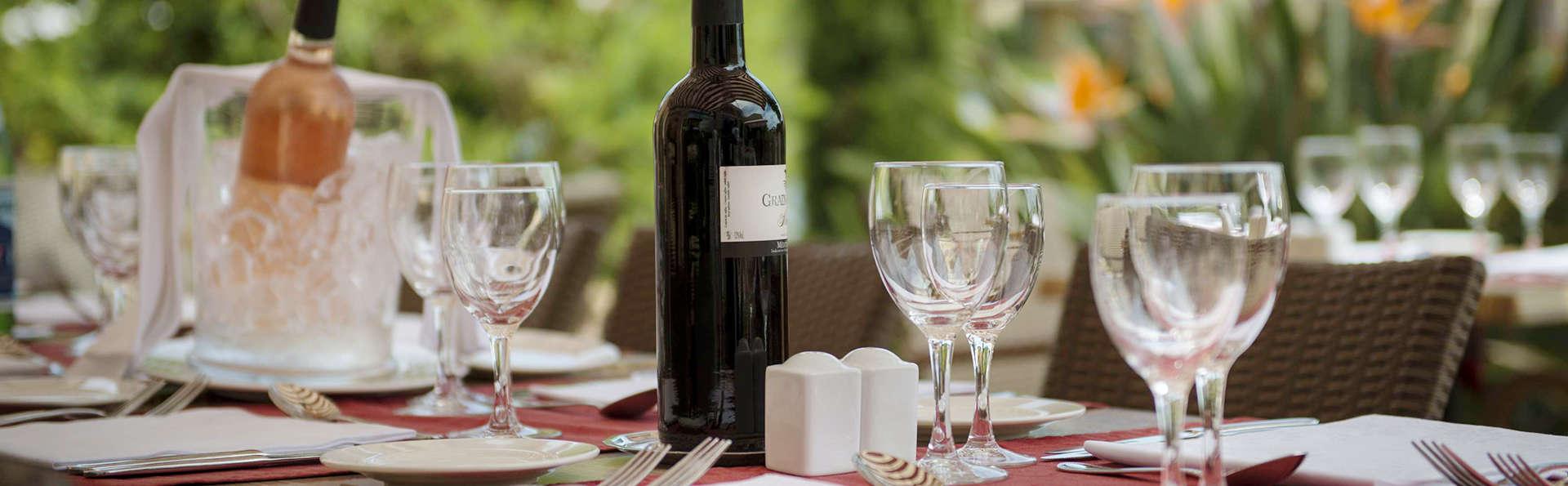 Week-end gourmand avec dîner 3 plats à Sainte-Maxime