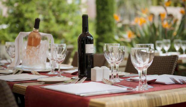 Escapada gastronómica con una cena con 3 platos en Sainte-Maxime