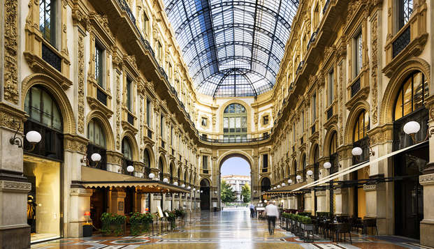 Descubre las calles de la magnífica Milán en un hotel 4*