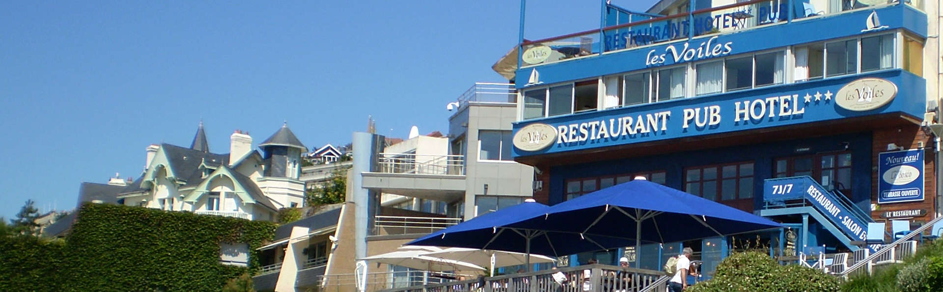 Hôtel Les Voiles sur le Front de Mer 3* - Le Havre - Sainte Adresse ...