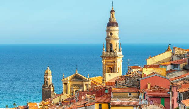 Fin de semana en Menton con entradas para el Museo oceanográfico de Mónaco