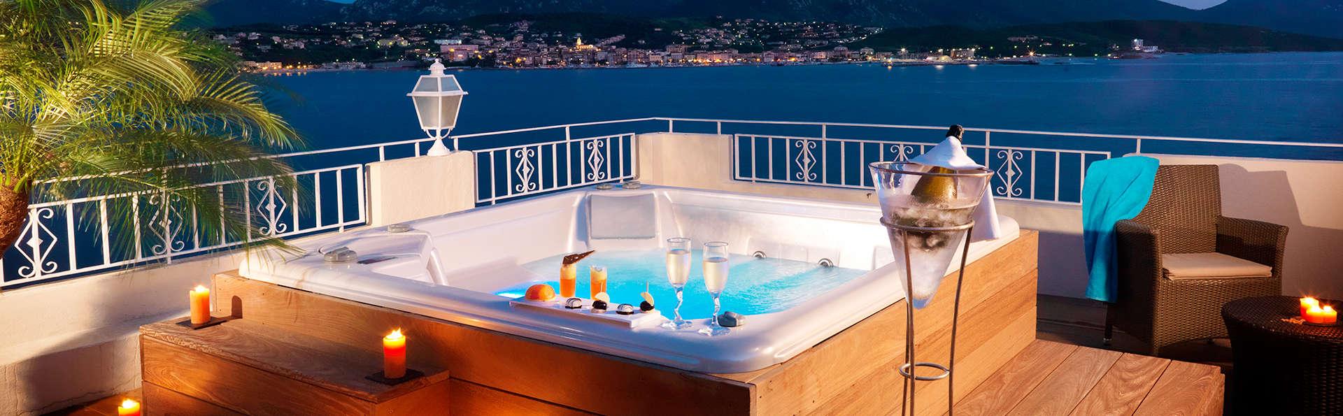 Dans un établissement de luxe : Escapade romantique au Sud de la Corse