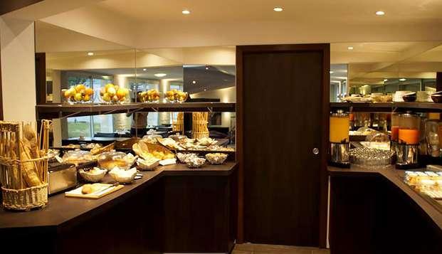 Hotel The Originals Montbeliard Sud Charme Hotel et Spa ex Inter-Hotel - Breakfast