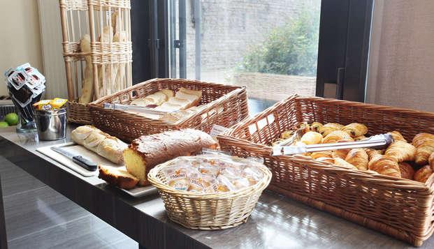 Appart Hotel Odalys Confluence - Breakfast