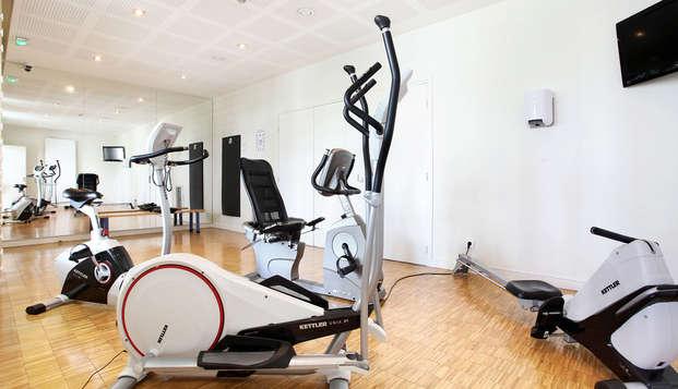 Appart Hotel Odalys Confluence - Gym