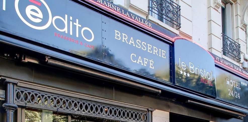 Hotel The Originals Reims Le Bristol  Ex Inter