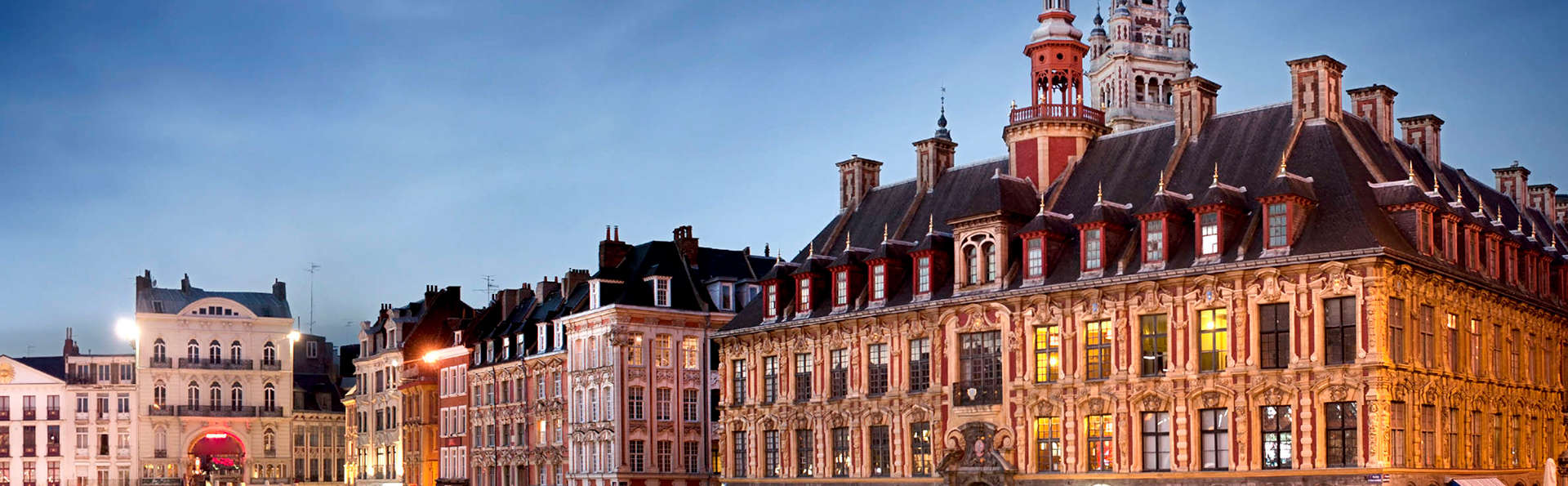 Week end citytrip lille avec travaux dans l 39 tablissement for Lille capitale des flandres