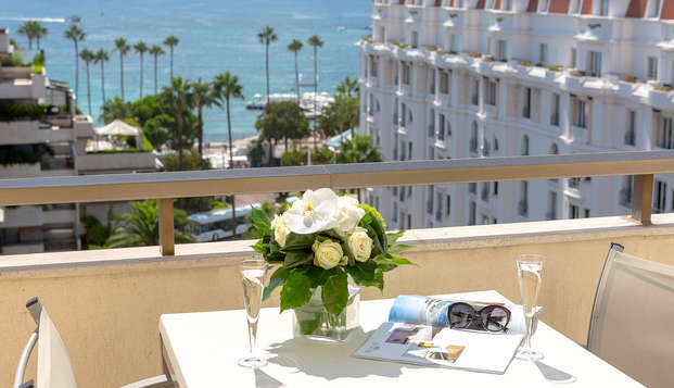 Hotel Barriere Le Gray d Albion Cannes - new balcon