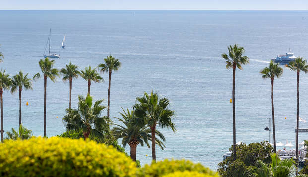 Hotel Barriere Le Gray d Albion Cannes - new view