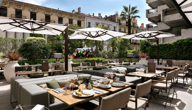 Hotel Barriere Le Gray d Albion Cannes - new terrrace