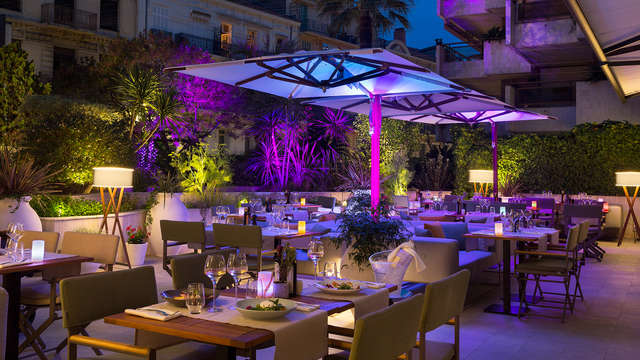 Hotel Barriere Le Gray d Albion Cannes - new terrace
