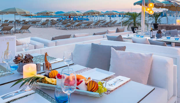 Hotel Barriere Le Gray d Albion Cannes - new terrace rest