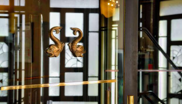 Hotel Mercure Biarritz Centre Plaza - new entrance
