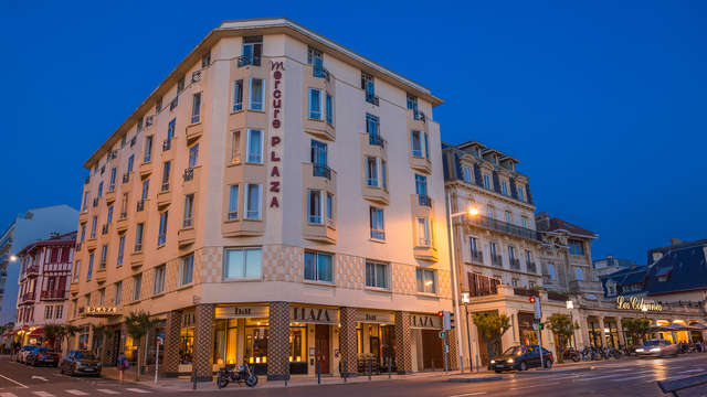 Hotel Mercure Biarritz Centre Plaza - new front