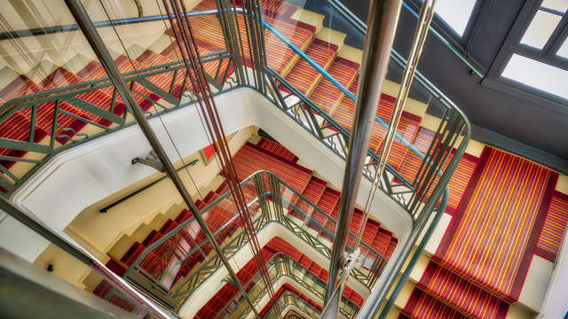 Hotel Mercure Biarritz Centre Plaza - new stairs