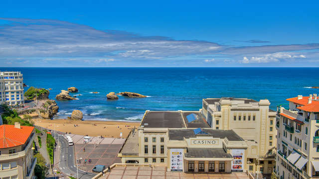 Hotel Mercure Biarritz Centre Plaza - new view