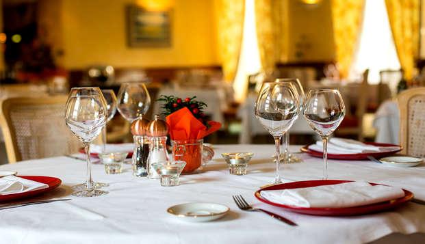 Plaisirs gastronomiques dans un ancien couvent à Autun