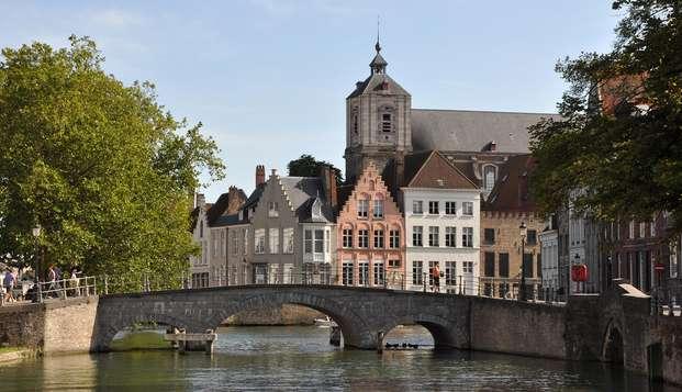 Visitez la ville historique et impressionnante de Bruges ( à partir de 2 nuits)