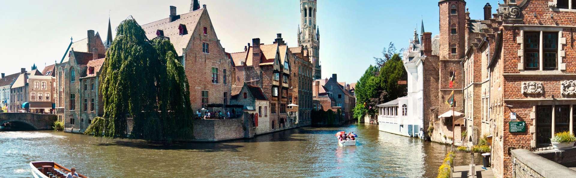 Découvrez le coeur historique de Bruges lors d'une croisière