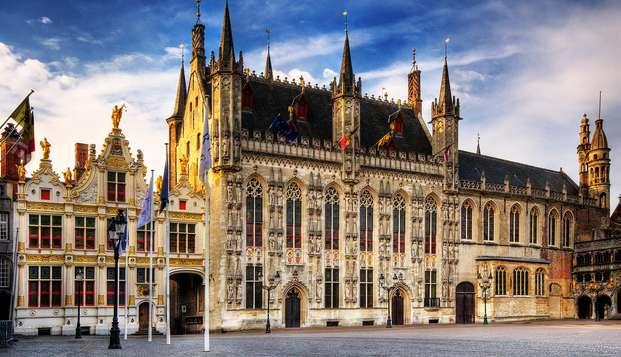 Découvrez le cœur historique de Bruges avec entrée au musée du chocolat