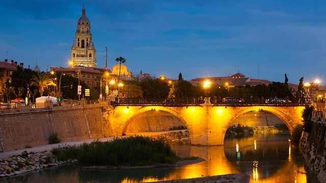 Escapada con encanto en pleno centro de Murcia