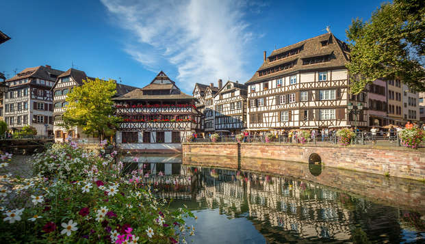 Week-end raffiné en chambre supérieure au centre de Strasbourg
