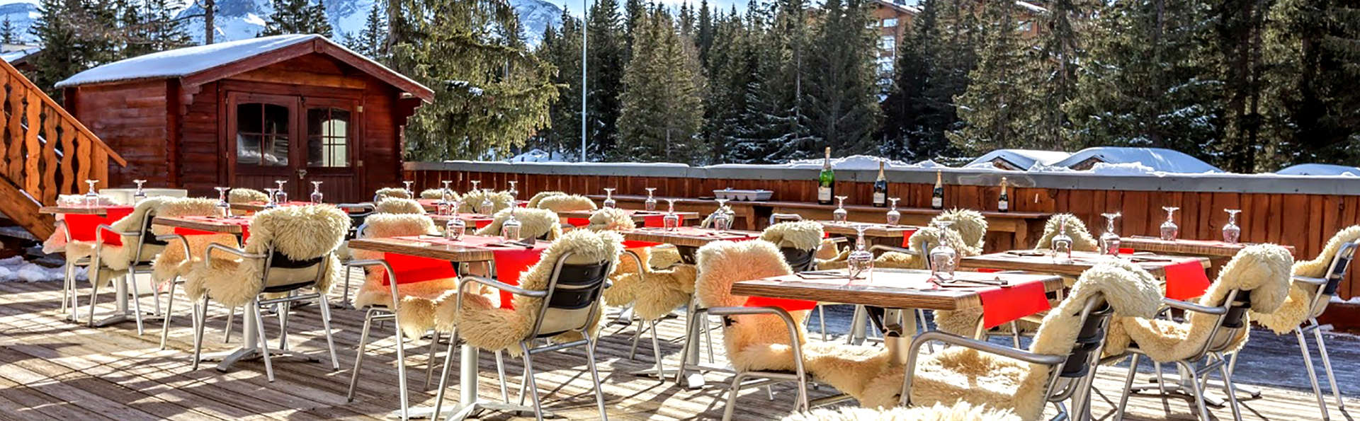 Relax al pie de las pistas de Courchevel