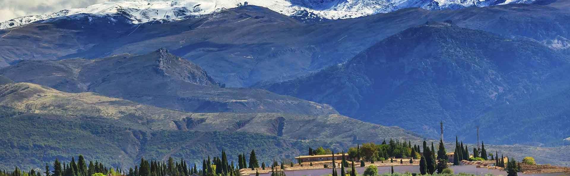 Escapade dans la Sierra Nevada pour 4 adultes, petit-déjeuner compris
