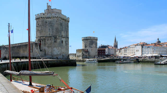 1 Visite des Tours de La Rochelle pour 2 adultes